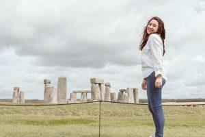 Stonehenge photoshoot
