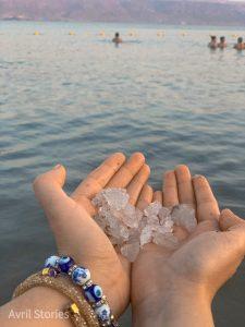 Mar muerto sal