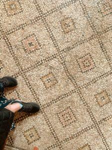 Mosaico iglesia de la multiplicación