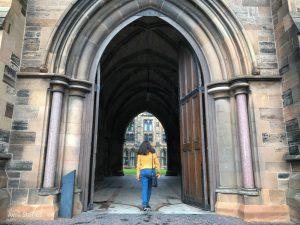 Universidad de Glasgow viajera