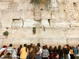 Muro de los lamentos mujeres