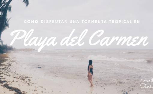 Playa del Carmen Tormenta